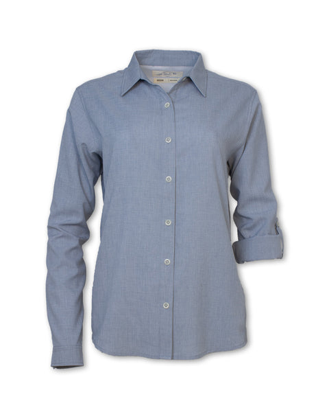 Long-Sleeved Quick Dry Roll-Up Shirt