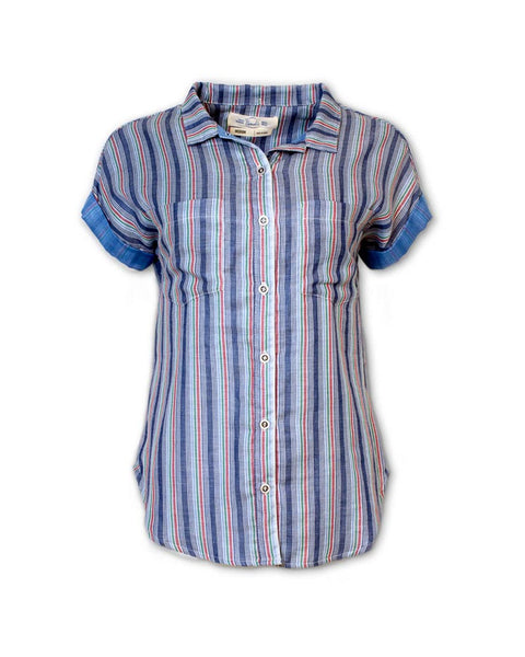 Short-Sleeved Double-Sided Shirt