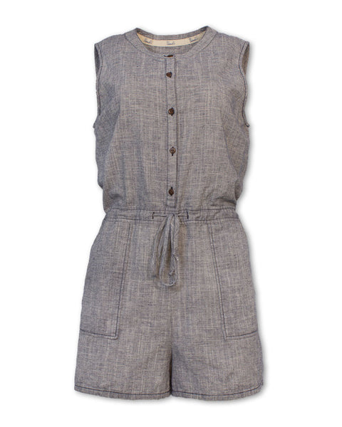 Crosshatch Romper