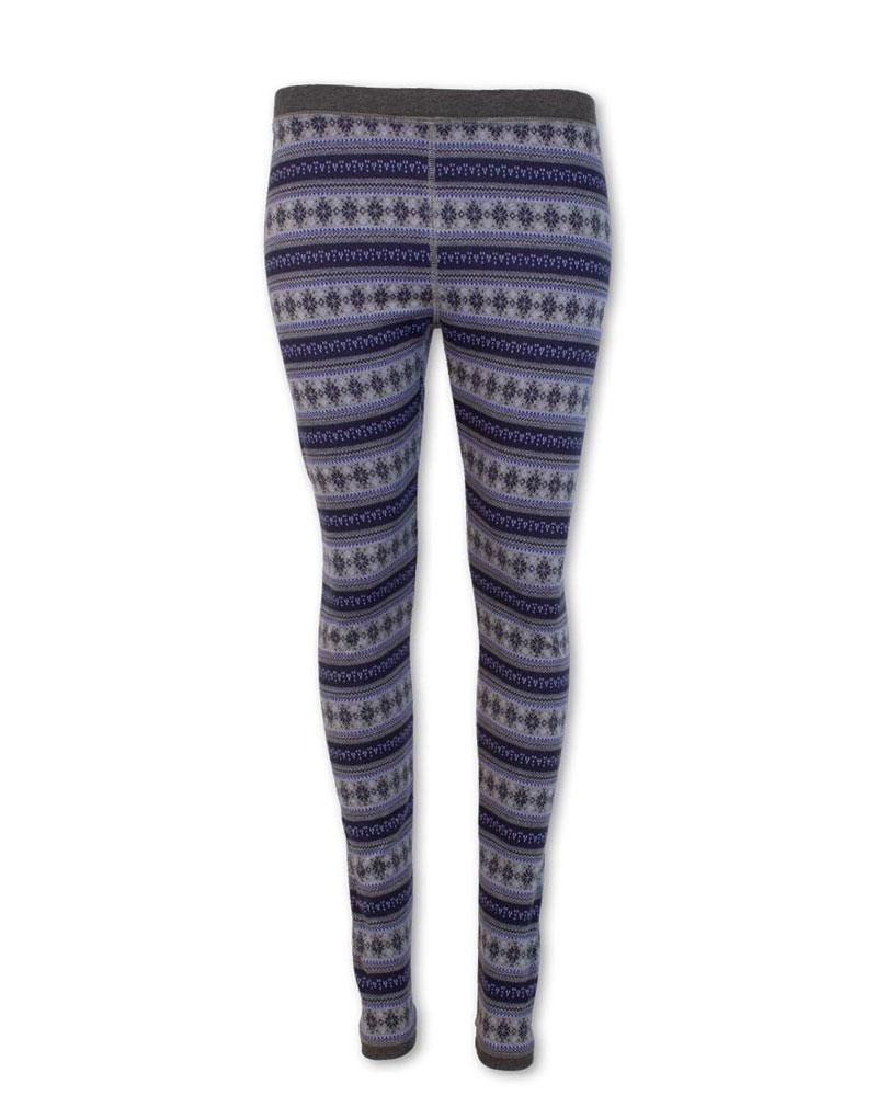 Nordic Star Fair Isle Performance Leggings