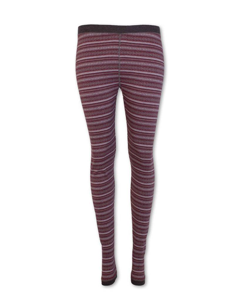 Nordic Diamond Fair Isle Performance Leggings