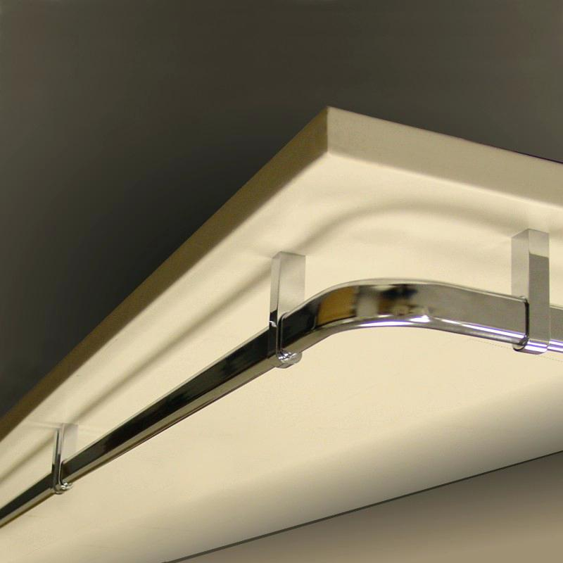 Imex Oval Closet Rod Curved Corner Support Imex Hardware