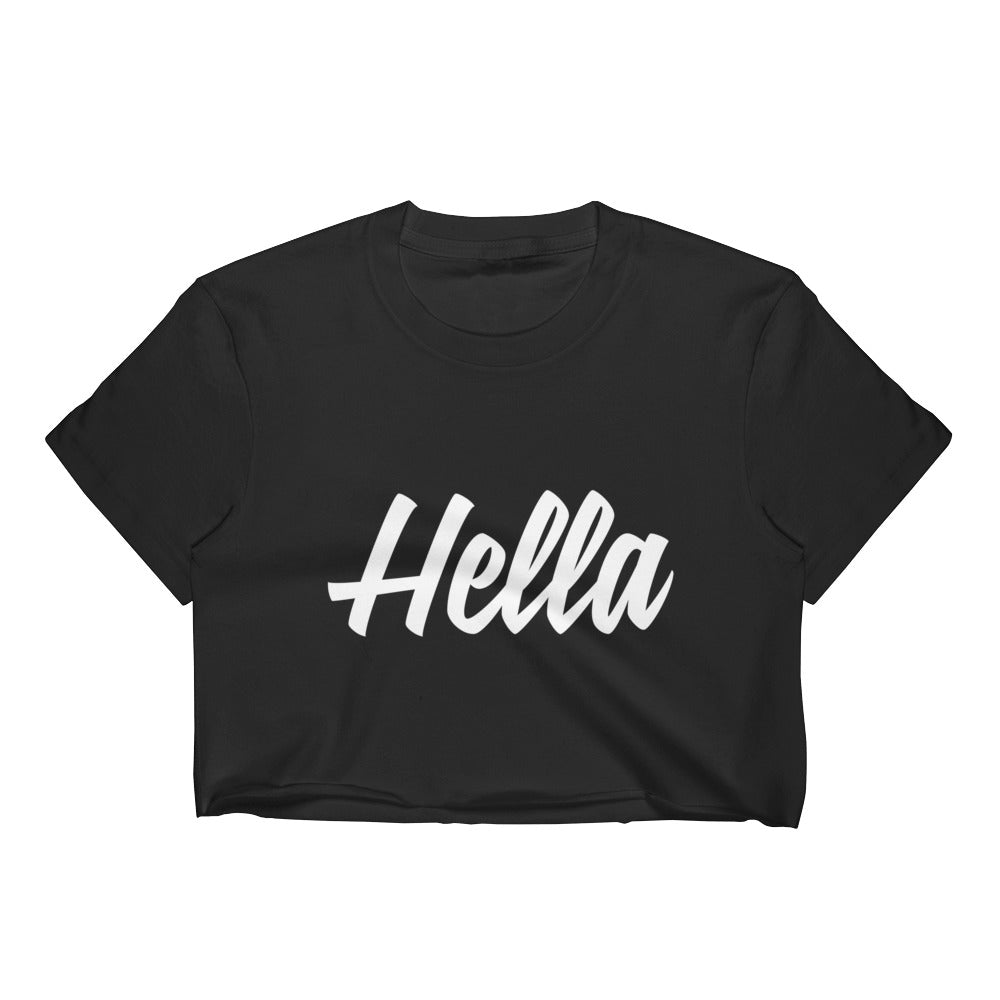 Hella Black Crop