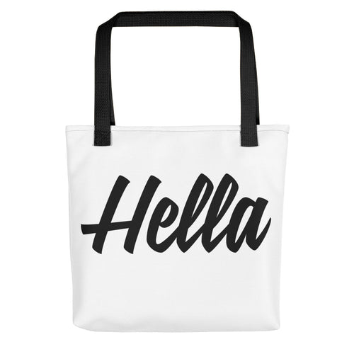 The Hella Tote bag