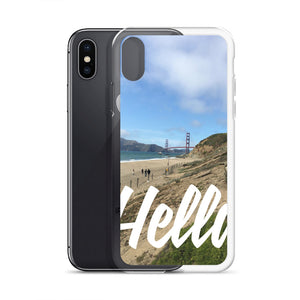 Bay Area iPhone case