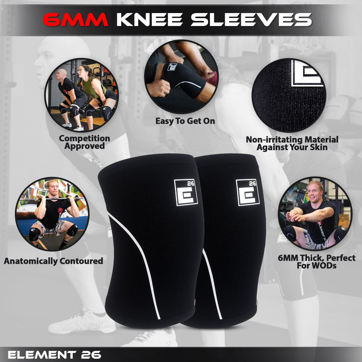 E26 Knee Sleeves for crossfit
