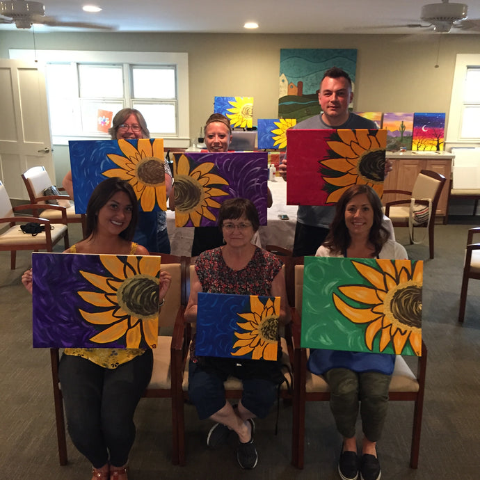 "Painting Party Fundraiser ""Running for Joy!"""
