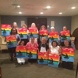 "You raised $700 ""Painting for Joy!"" in 2017"
