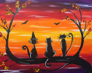 "Love - ""Halloween Kitties"""