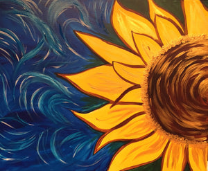 "Flowers - ""Golden Sunflower"""