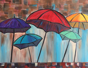 "Love - ""Abstract Umbrellas"""