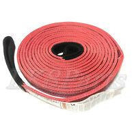Factor 55 Tow Strap 30 Foot X 2 Inch Black/Red 00074