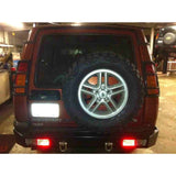 HEAVY DUTY REAR BUMPER WITH EYES TERRAFIRMA
