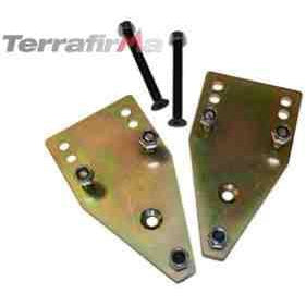 TERRAFIRMA REAR TOP SHOCK MOUNT RELOCATORS