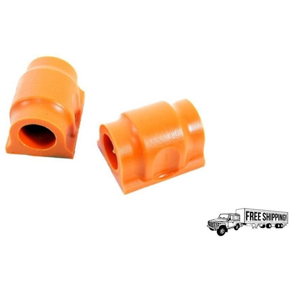 FRONT ANTIROLL BAR CLAMP BUSH POLYBUSH KIT ORANGE