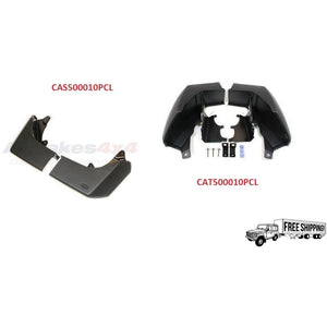 FRONT & REAR MUD FLAPS SET