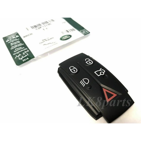 Jaguar Remote Smart Key Fob Replacement Button Pad XJ XK XF Genuine New