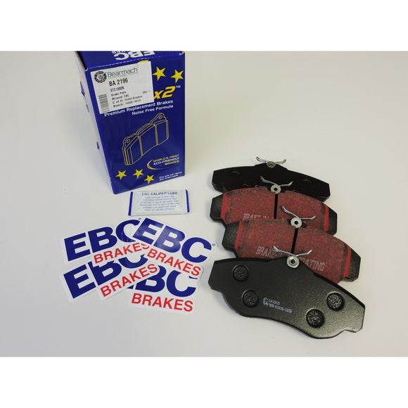 FRONT EBC PADS AND ROTOR SET