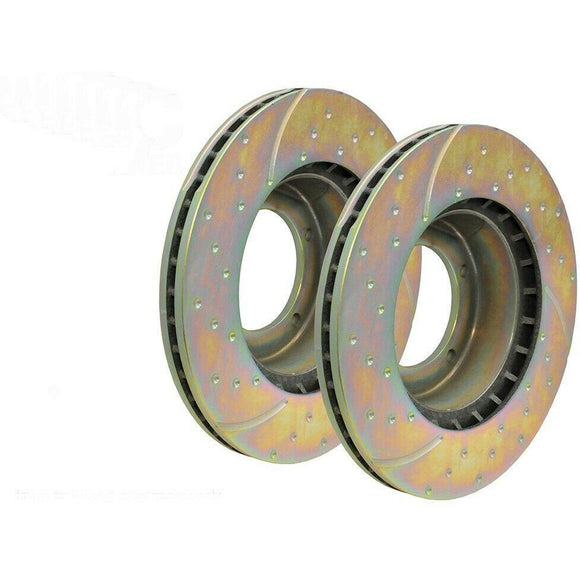 EBC Performance Front Brake Discs Vented DA4158 New