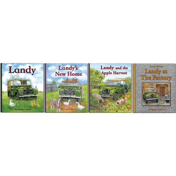 ALL 4 BOOKS FROM THE LANDY SERIES