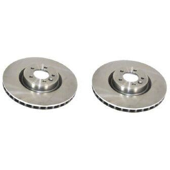 FRONT BRAKE ROTOR DISC SET x2 LR016176 NEW