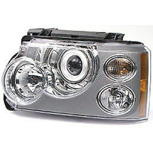 HEADLIGHT HEADLAMP AND FLASHER LEFT LH LR037023 NEW