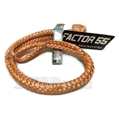 Factor 55 Synthetic Orange Soft Shackle