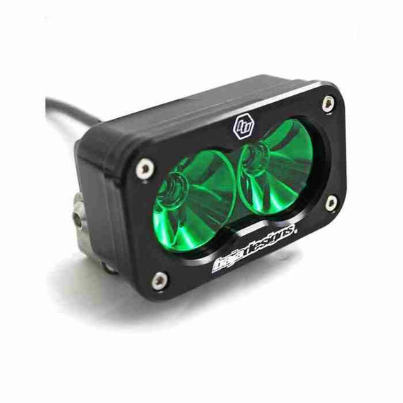 BAJA DESIGNS S2 PRO, LED DRIVING , GREEN