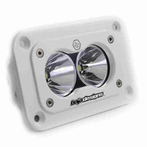 BAJA DESIGNS S2 PRO, LED DRIVING, FLUSH MOUNT WHITE