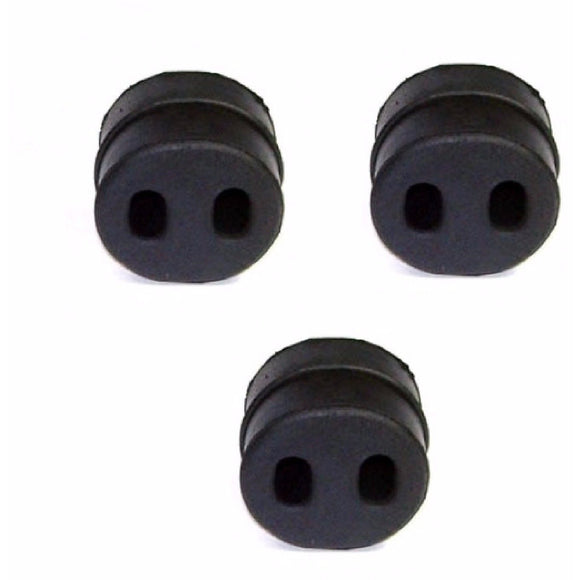 Rubber Exhaust Support Mount Set x3