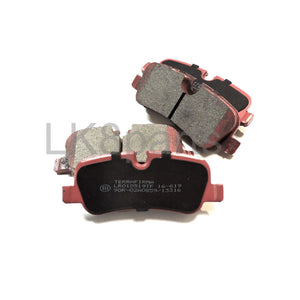 CERAMIC PREMIUM REAR BRAKE PADS TF
