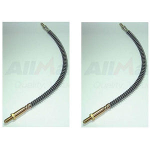 Front Brake Flexi Hose Set x2
