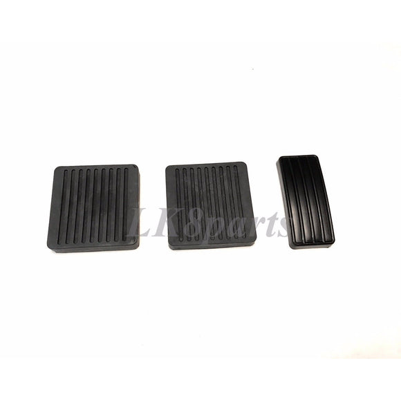 COMPLETE PEDAL PAD RUBBER SET