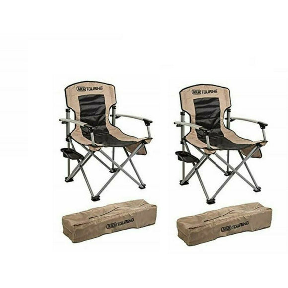 Sport Camping Chairs with Storage Bag Set of 2