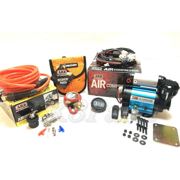 Ultimate Wheeler ARB Air Compressor KIT, E-Z Tire Deflator & Pump Up Kit 4x4