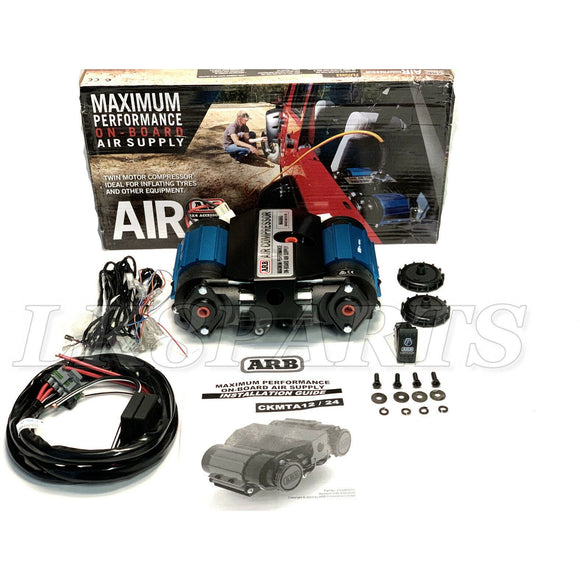 On-Board High Performance 12 Volt Big Twin Air Compressor