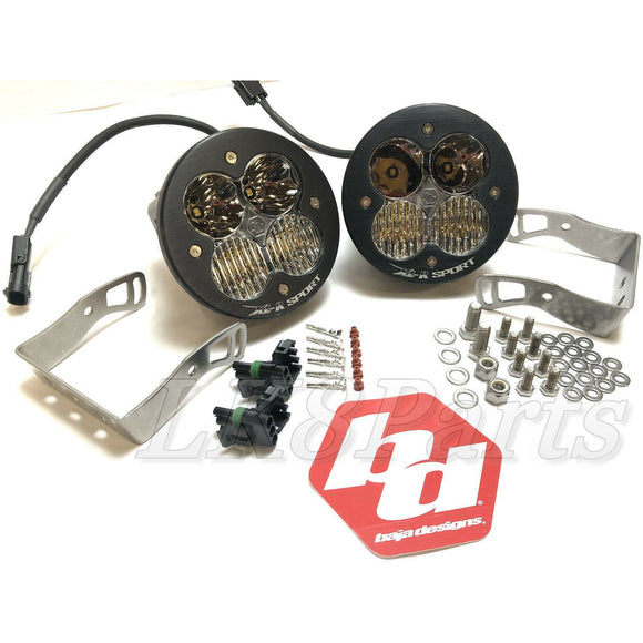 Baja Designs XL-R Sport LED Pair Driving Combo Light Kit 57-7803 New