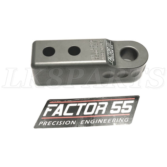 Factor 55 00020-06 Gray Aluminum HitchLink 2.0 Shackle Mount for 2