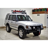 Heavy Duty Front Steel Bumper with Winch Moun