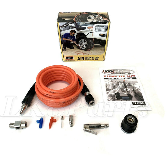 ARB Tire Inflation Kit for Air Compressors Dust Free Air Chuch 20ft Hose
