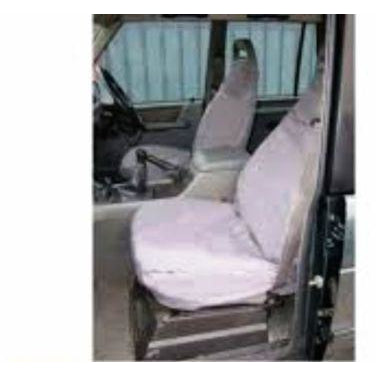 WATERPROOF FRONT SEAT COVERS SET GREY