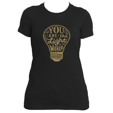Ladies Light of The World - Gifteedly Tee's & More