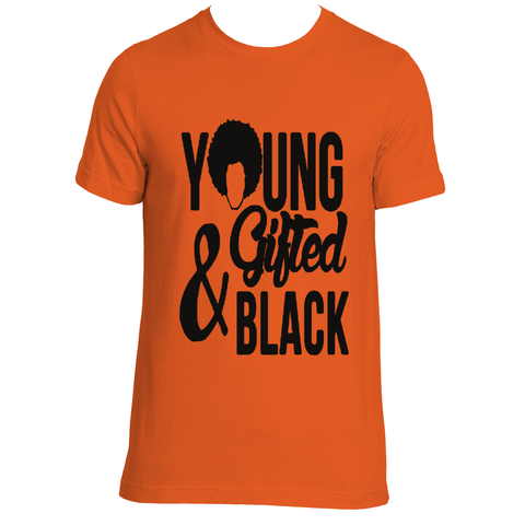 Young Gifted and Black Tee - Gifteedly Tee's & More