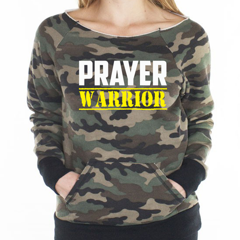 Prayer Warrior Ladies Raglan