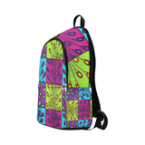 Peacock Ankara Backpack for Adult
