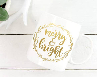 Quotable Life - Merry and Bright Coffee Mug