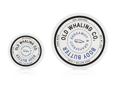 Old Whaling Company - Bergamot + Grapefruit Travel-Size Body Butter (2oz)