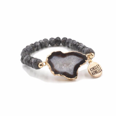 Agate Collection Smoky Bracelet