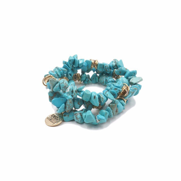 Cluster Collection Turquoise Bracelet
