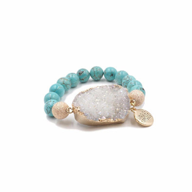 Stone Collection Aqua Marine Bracelet